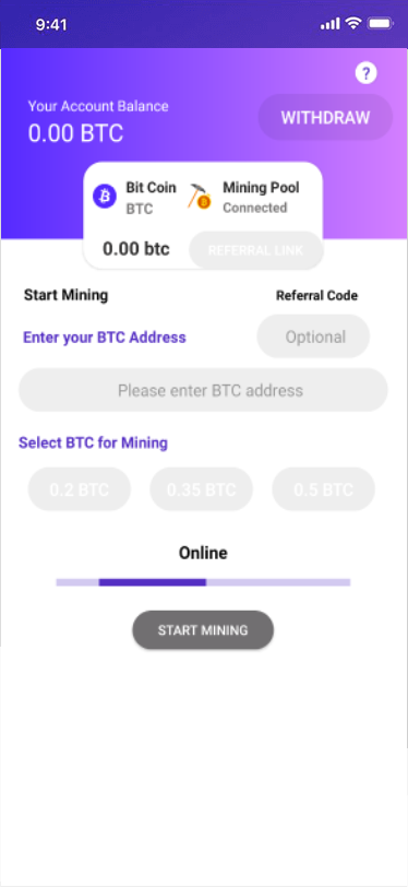 settling pond mining bitcoins